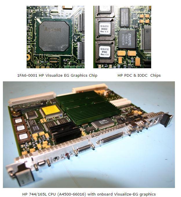 HP 744/165L CPU